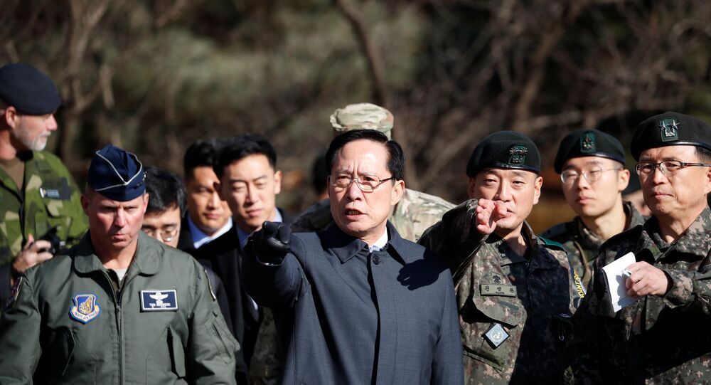 Güney Kore Savunma Bakanı Song Young-moo