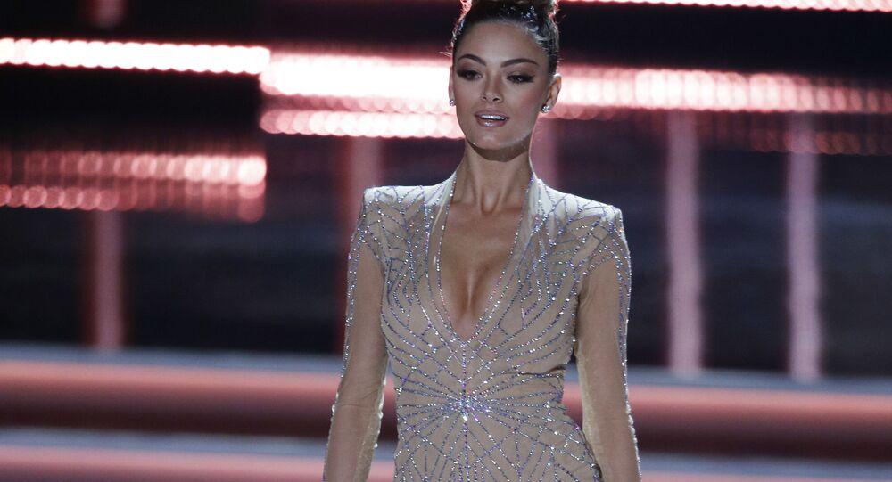 Las Vegas'ta 2017 Kainat Güzeli yarışması