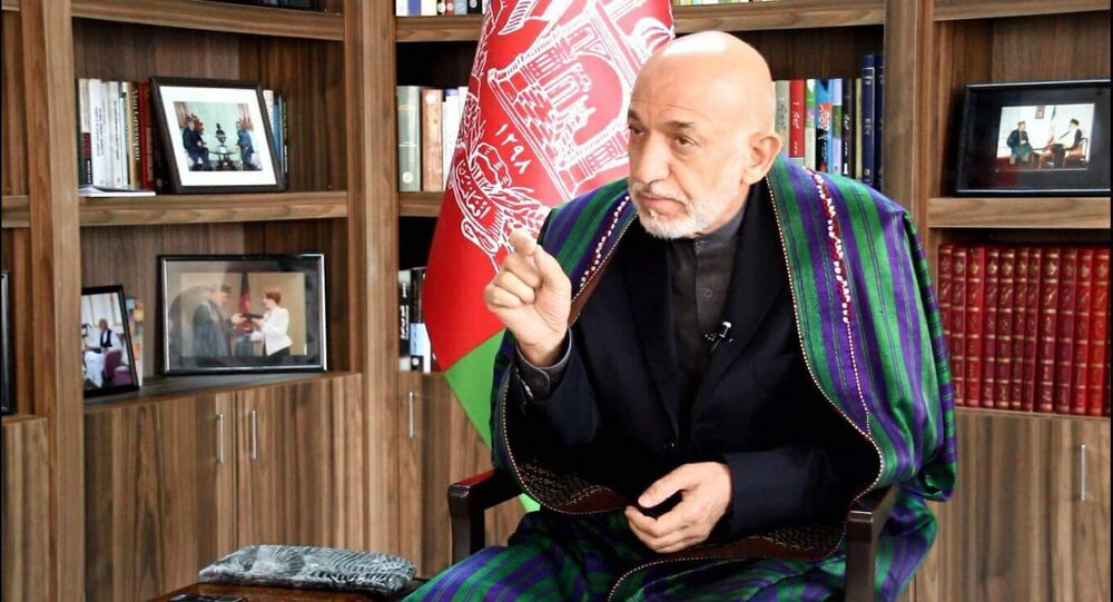 Eski Afganistan Devlet Başkanı Hamid Karzai