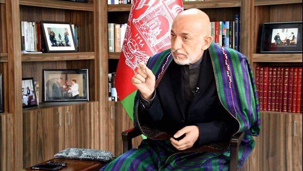 Eski Afganistan Devlet Başkanı Hamid Karzai - Sputnik Türkiye