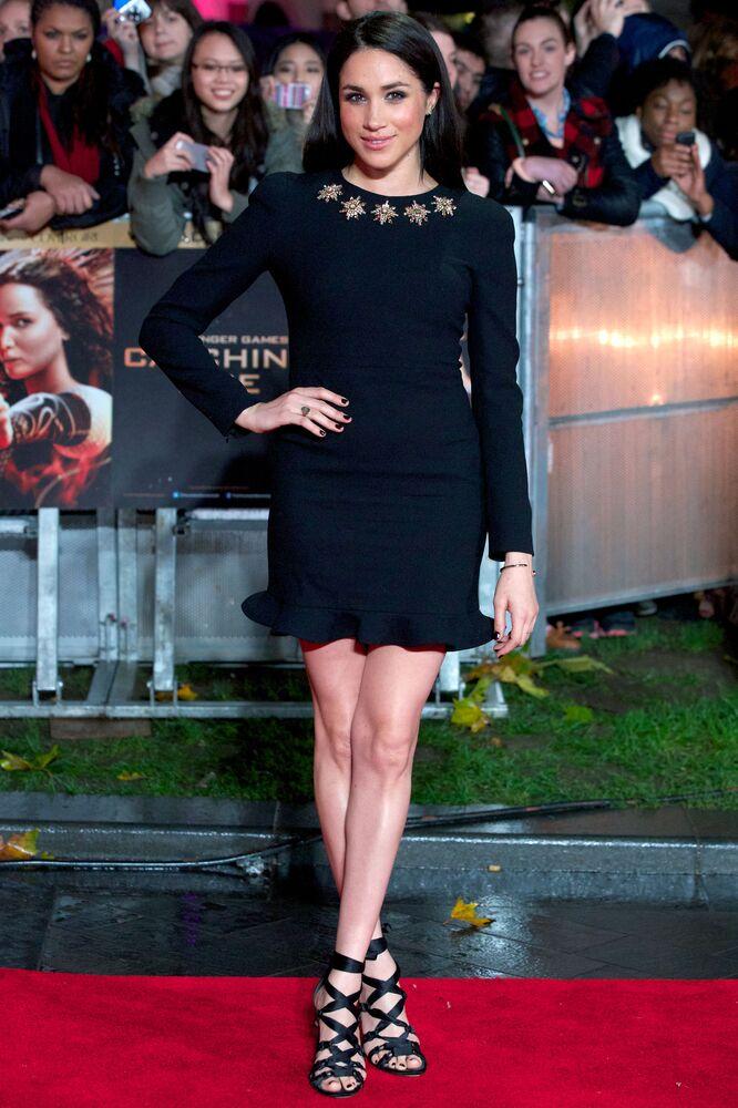 İngiltere Prensi Harry ve nişanlısı ABD'li aktris Meghan Markle