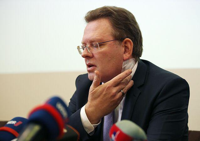 Almanya Altena Belediye Başkanı Andreas Hollstein