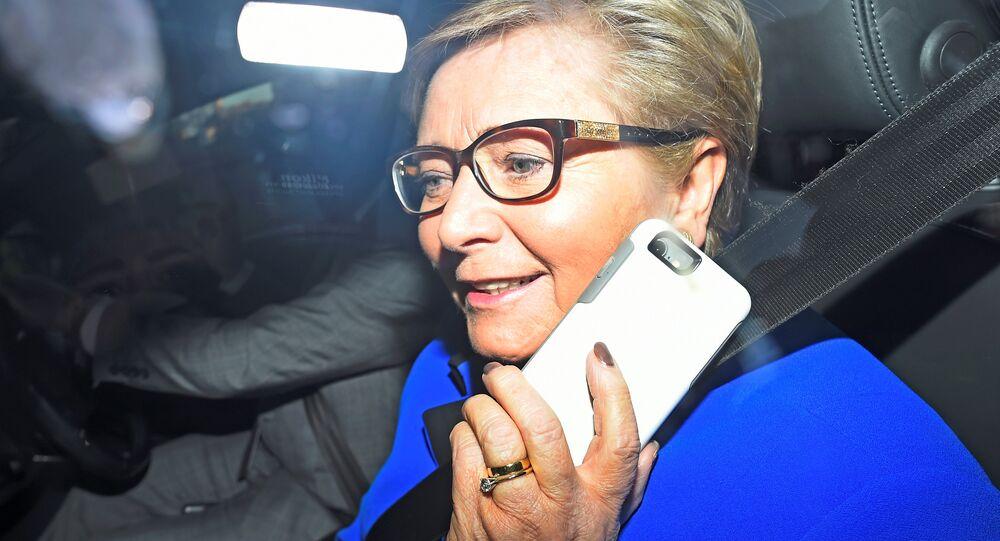 İrlanda Başbakan Yardımcısı Frances Fitzgerald