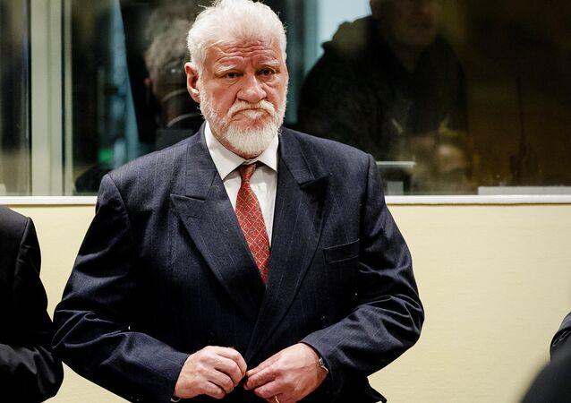 Bosnalı Hırvat general Slobodan Praljak