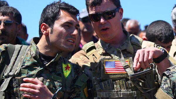 ABD-YPG-Derik - Sputnik Türkiye