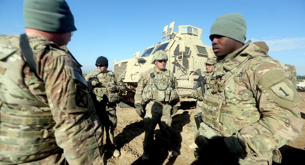 ABD Asker Irak Suriye