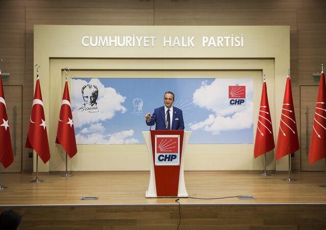 Cumhuriyet Halk Partisi (CHP) Genel Başkan Yardımcısı ve Parti Sözcüsü Bülent Tezcan