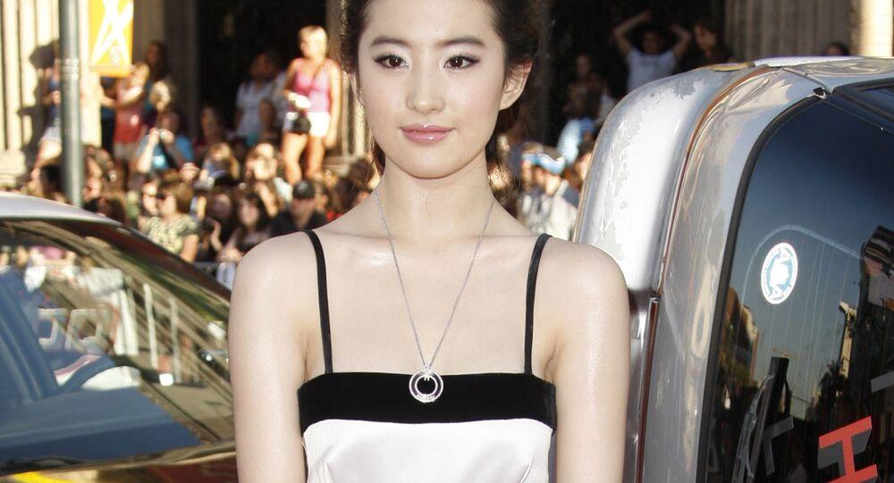 Disney Mulan Yifei Liu