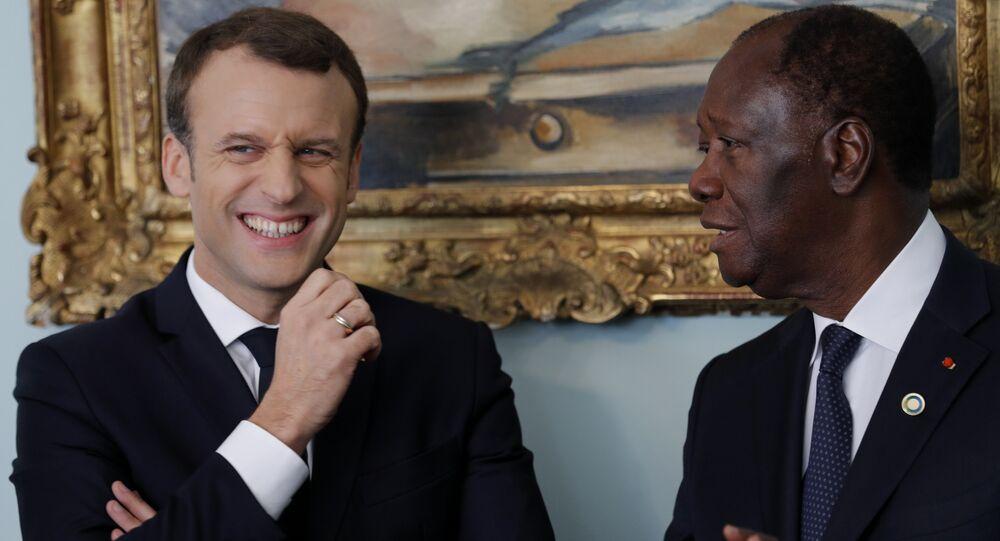 Macron Fildişi Sahilleri