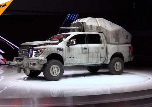 Los Angeles Otomobil Fuarı'na 'Yıldız Savaşları' damgası