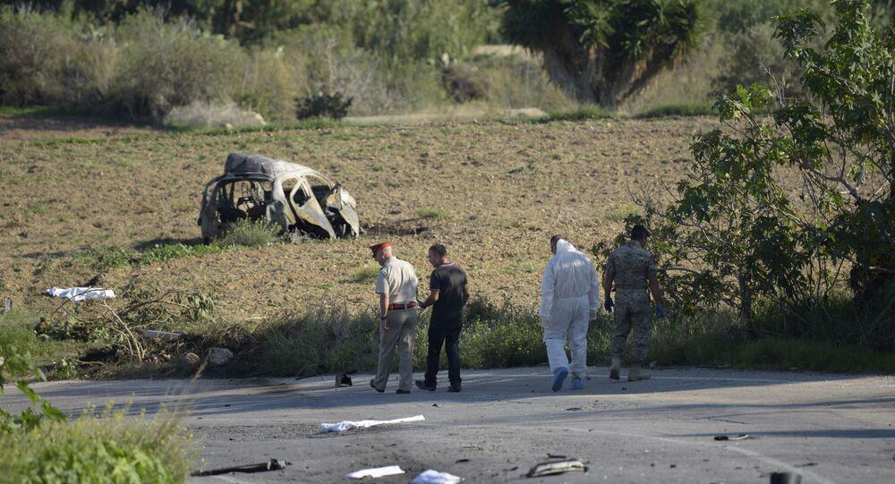 Maltalı gazeteciye suikast