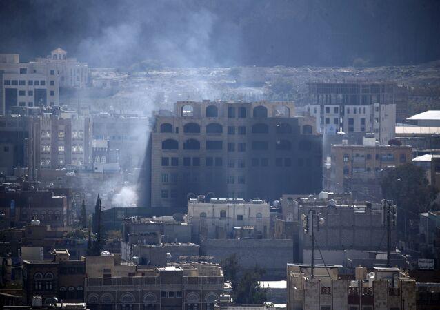 Yemen Sana Salih evi havaya uçuruldu