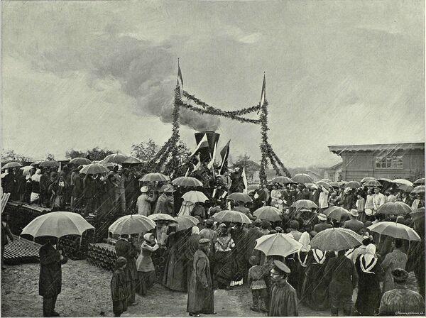 Trans-Sibirya demiryolu arşiv fotoğraflarında - Sputnik Türkiye