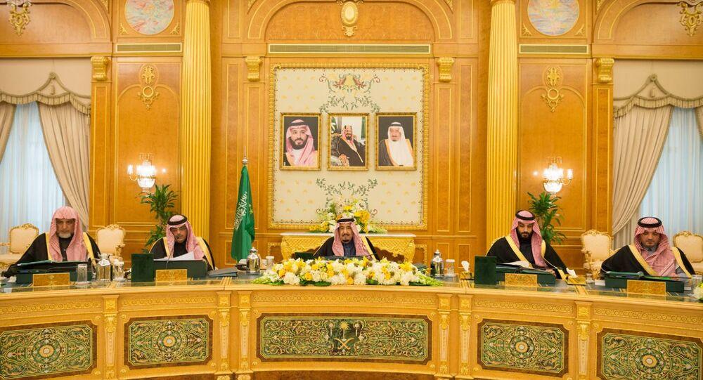 Suudi Kralı Selman oğlu Veliaht Prens kabine toplantısında