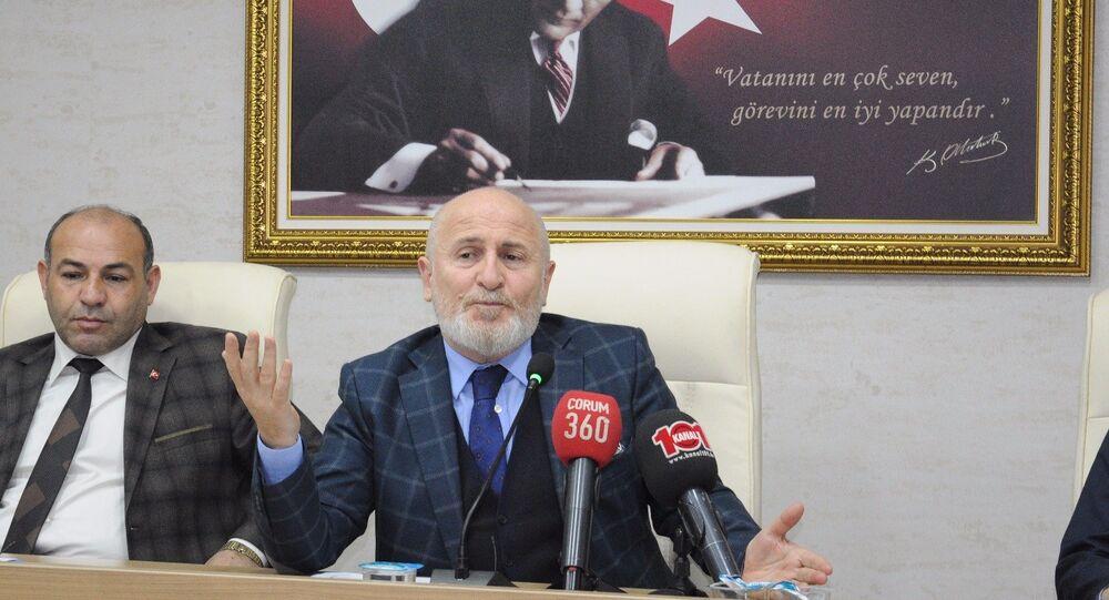 Çorum İl Genel Meclisi'nin AK Partili başkanı Halil İbrahim Kaya