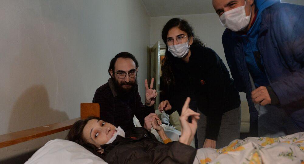 Nuriye Gülmen, Veli Saçılık, Semih ve Esra Özakça