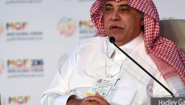Suudi Arabistan Ticaret ve Yatırım Bakanı Macid bin Abdullah el Kasabi - Sputnik Türkiye