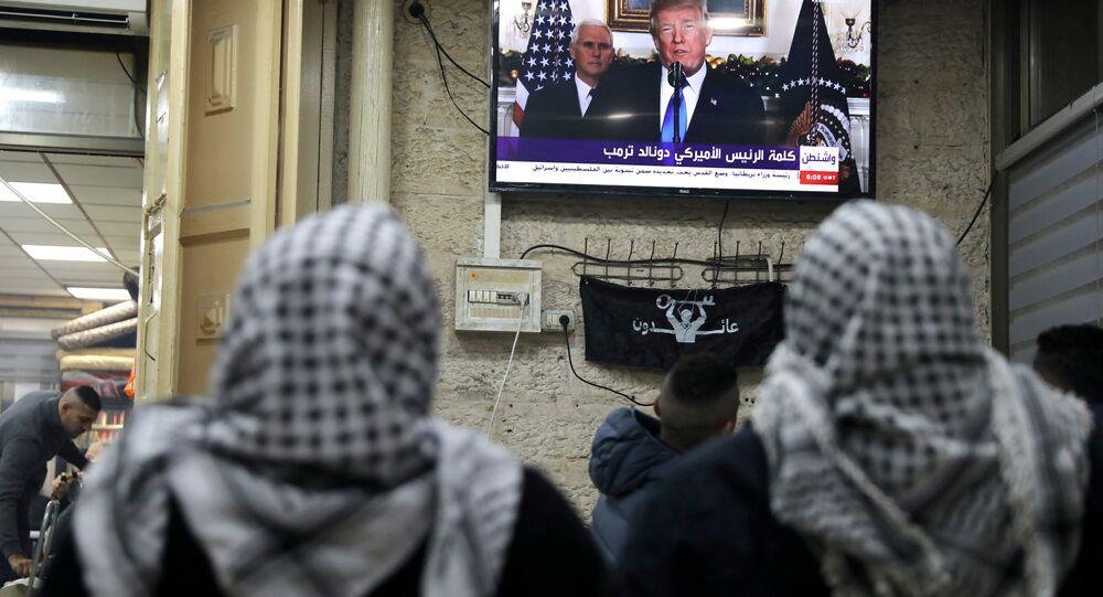 ABD Başkanı Donald Trump- Kudüs- Filistin- İsrail
