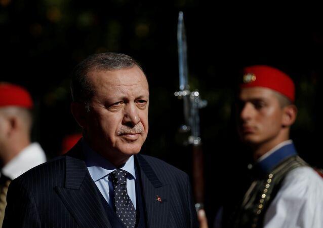 Cumhurbaşkanı Recep Tayyip Erdoğan, Yunanistan'da