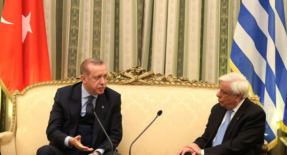 Cumhurbaşkanı Recep Tayyip Erdoğan, Yunanistan Cumhurbaşkanı Prokopis Pavlopulos