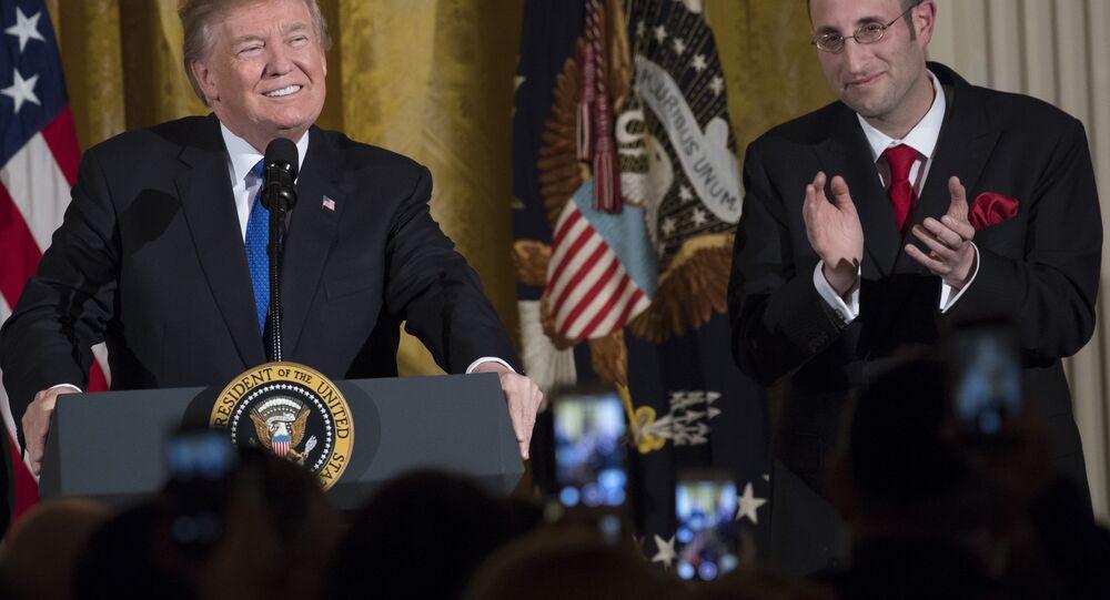 ABD Başkanı Donald Trump- Hanuka Bayramı