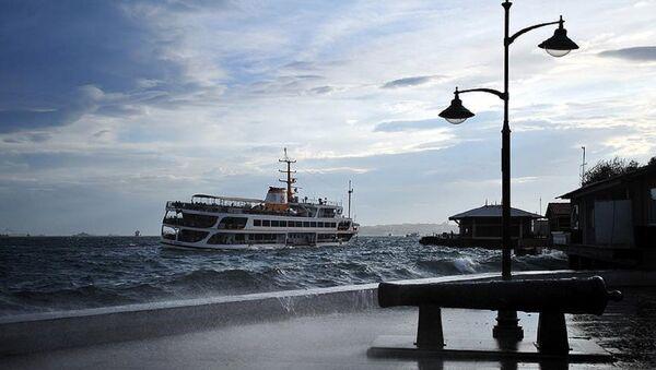 İstanbul, fırtına, vapur - Sputnik Türkiye