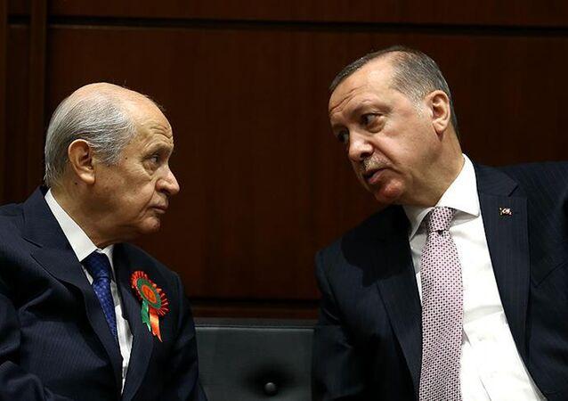 Devlet Bahçeli-Recep Tayyip Erdoğan