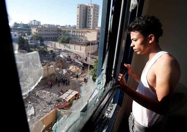 Gazze-İsrail hava saldırısı