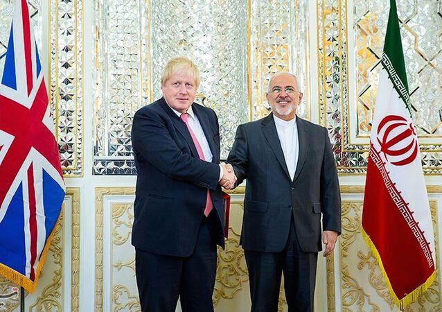 Boris Johnson Johnson, İran'da