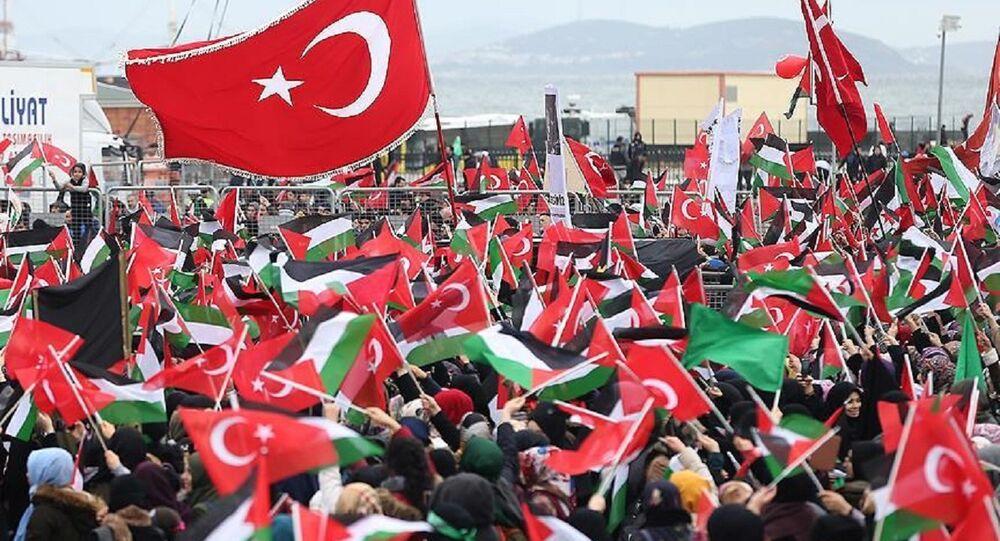 'Kudüs İslam'ındır' mitingi