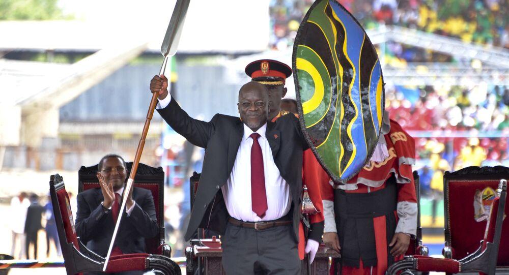 Tanzanya Devlet Başkanı John Pombe Magufuli yemin töreni