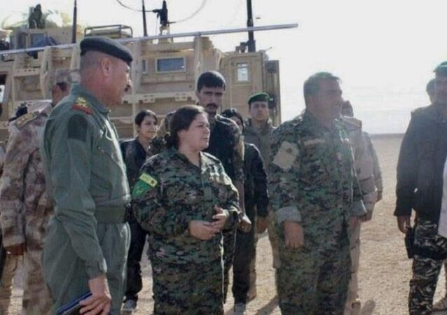 Irak hükümet güçleri DSG görüşme