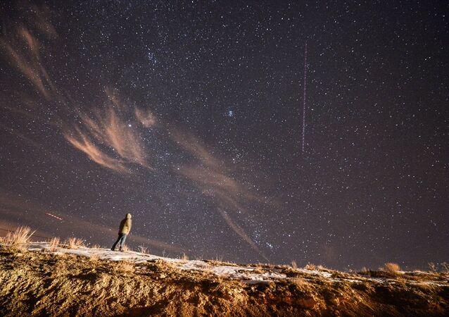 Geminid Meteor yağmuru büyüledi