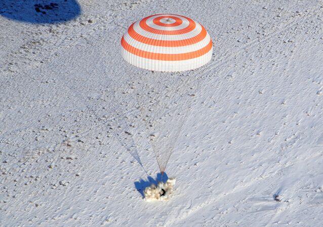Soyuz Kazakistan iniş