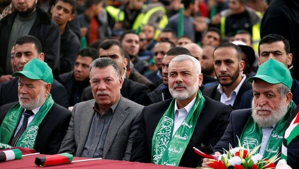 Hamas'ın 30'uncu kuruluş yıl dönümü - Sputnik Türkiye