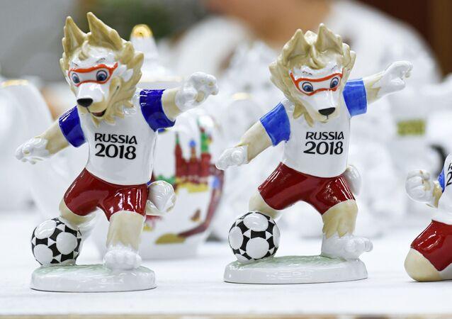 Rusya'da 2018 Dünya Kupası için hediyelik eşyalar
