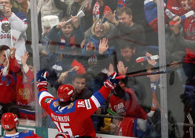 Rusya, buz hokeyinde Kanada'yı yendi