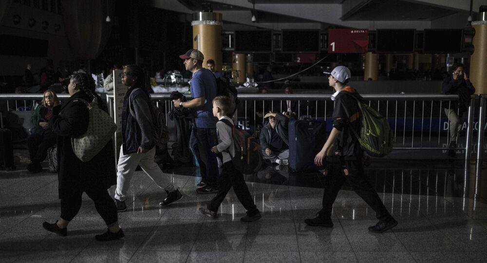 Atlanta Havalimanı'nda elektrikler kesildi