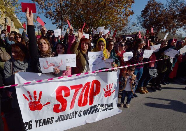 IKBY Süleymaniye maaş krizi protesto