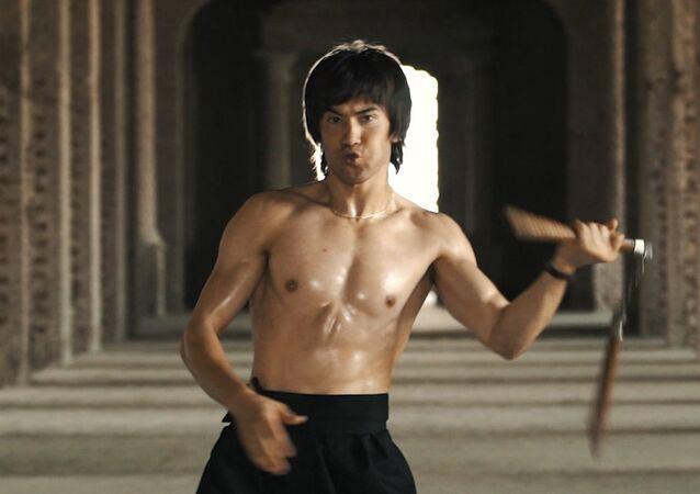 'Afgan Bruce Lee' sosyal medyada fenomen oldu