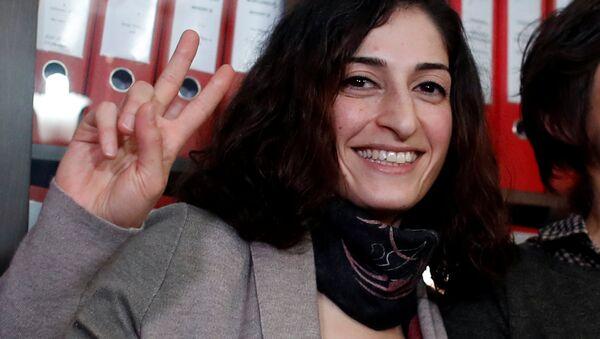 Gazeteci Meşale Tolu - Sputnik Türkiye