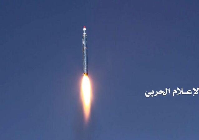 Husiler'in Riyad'a son 2 ayda attığı 2. balistik füze