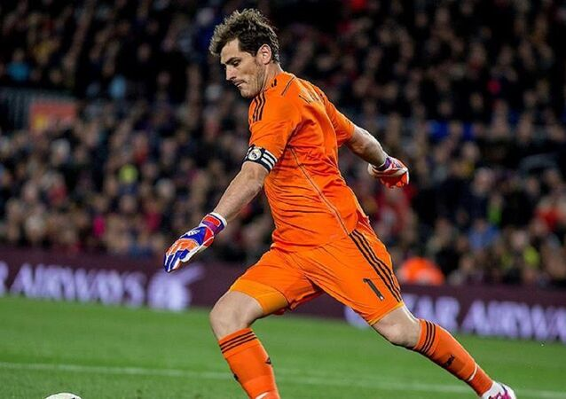 İspanyol kaleci Iker Casillas