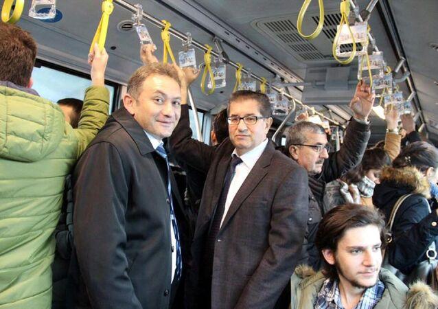 Metrobüs, güven timleri