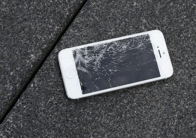 Akıllı telefon-Kırık ekran