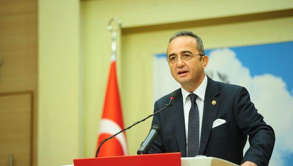 CHP Parti Sözcüsü Bülent Tezcan - Sputnik Türkiye