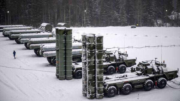 Rus ordusundan S-400'lü tatbikat - Sputnik Türkiye