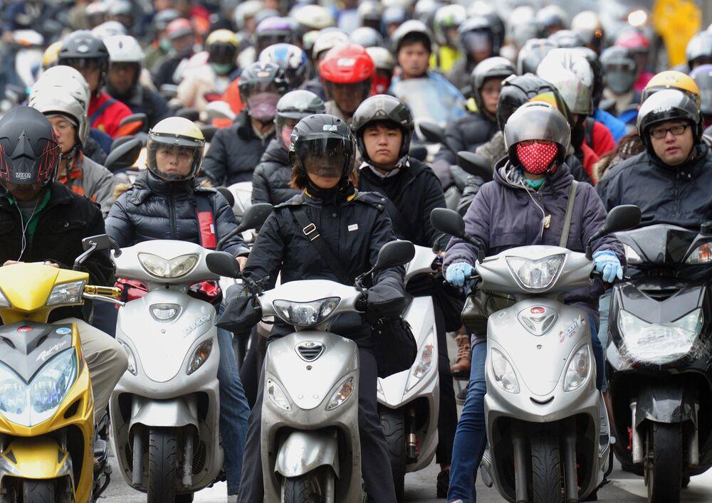 Tayvan, trafik