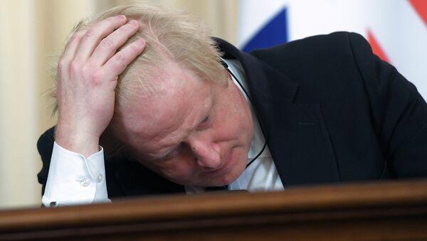 İngiltere Dışişleri Bakanı olan Boris Johnson - Sputnik Türkiye