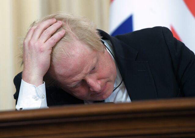 İngiltere Dışişleri Bakanı olan Boris Johnson